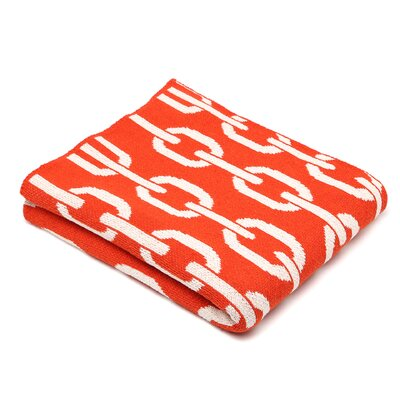In2Green Eco Links Cotton Throw Blanket
