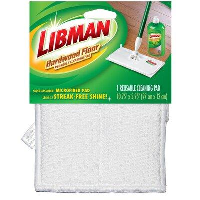 Dry Microfiber Hardwood Floor Cleaning Pad by Libman