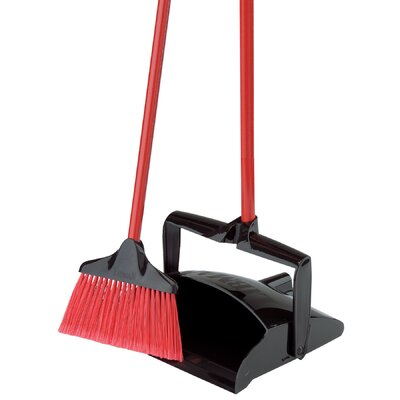 Lobby Broom and Dust Pan by Libman