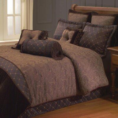 Opulent Paisley Comforter Set by Hallmart Collectibles