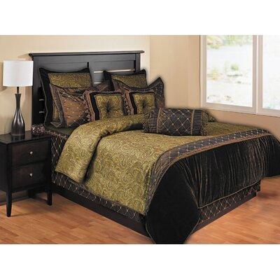 Opulent Paisley 9 Piece Queen Comforter Set by Hallmart Collectibles