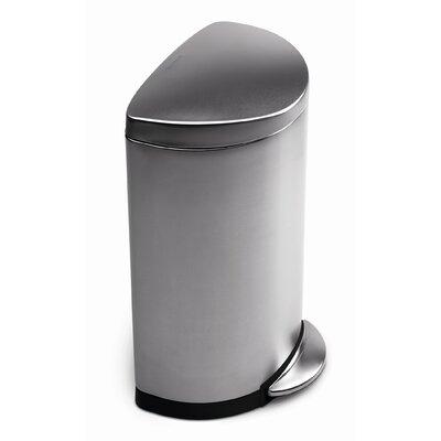 simplehuman 40 litre semi pedal bin. Black Bedroom Furniture Sets. Home Design Ideas