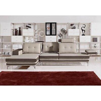 Divani Casa Left Hand Facing Sectional by VIG Furniture