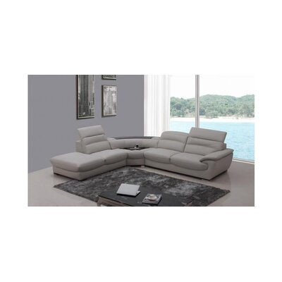 Divani Casa Miracle Leather Sectional by VIG Furniture