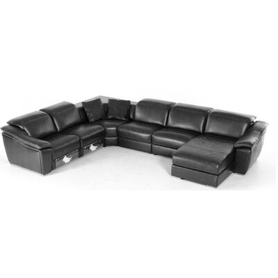 Divani Casa Jasper Modern Leather Sectional by VIG Furniture
