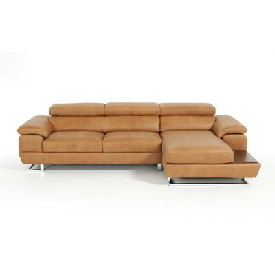 Divani Casa Leather Sectional Sofa by VIG Furniture
