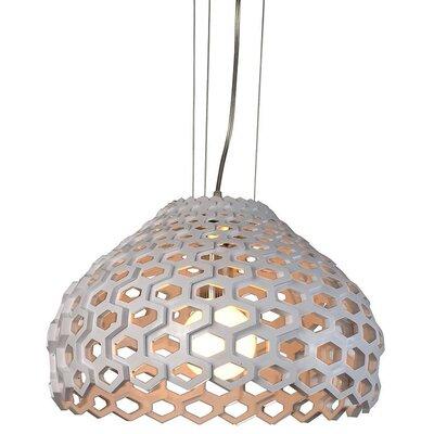 Modrest 1 Light Bowl Pendant by VIG Furniture