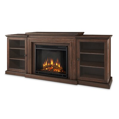 Frederick Entertainment Center with Electric Fireplace by Real Flame