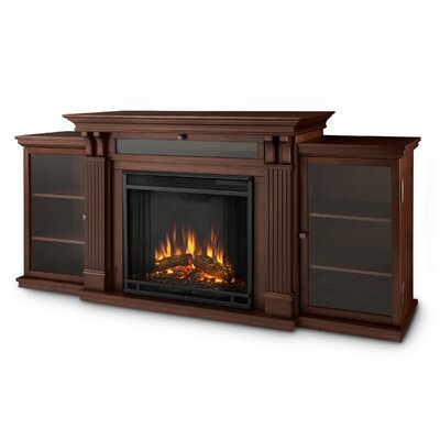 Calie Entertainment Center with Electric Fireplace by Real Flame
