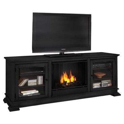 Real Flame Hudson Ventless TV Stand with Fireplace