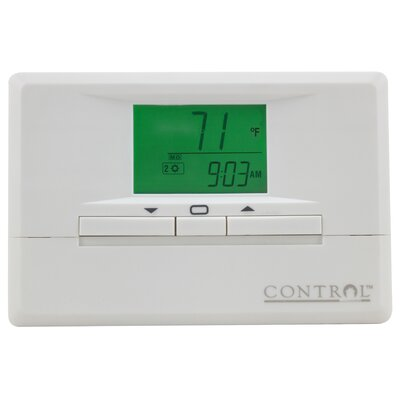 5/2-Day Programmable Digital Thermostat with Backlight (Set of 2) Product Photo