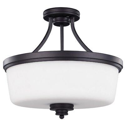 Jackson 3 Light Semi-Flush Mount Product Photo