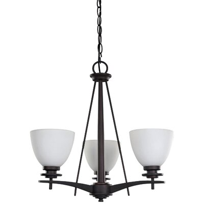New Yorker 3 Light Chandelier Product Photo