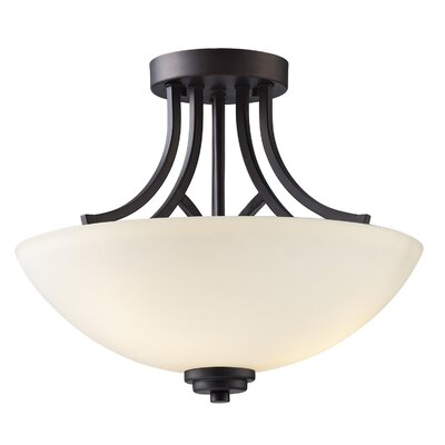 Somerset 3 Light Semi-Flush Mount Product Photo