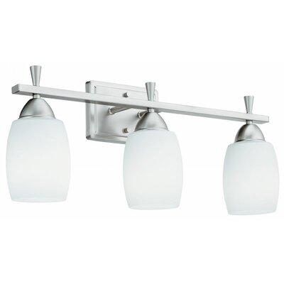 Vanity Light Lithonia : Lithonia Lighting Ferros 3 Light Vanity Light & Reviews Wayfair
