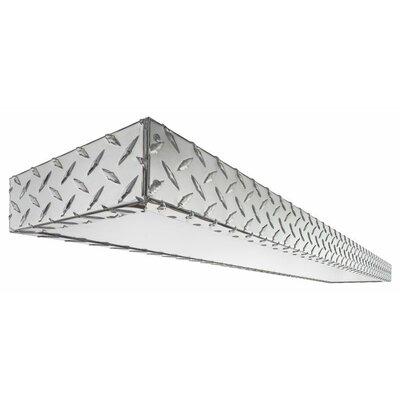Diamond Plate 2 Light Decorative Linear Product Photo