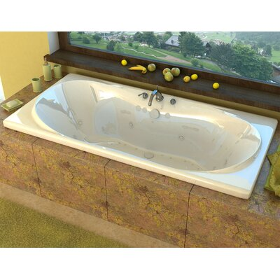 "Cayman Dream Suite 72"" x 42"" Rectangular Air & Whirlpool Jetted Bathtub Product Photo"