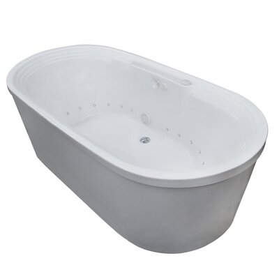 Spa escapes royal 67 x 34 air whirlpool jetted bathtub for Royal whirlpool baths