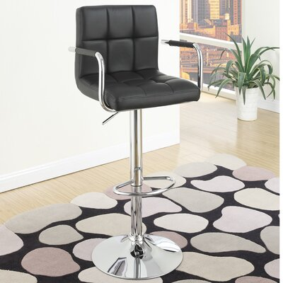 Adjustable Height Barstool by Poundex