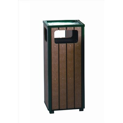 Rubbermaid Commercial Products 12-Gal Regent 50 Series Sand Top Ash/Trash Receptacle