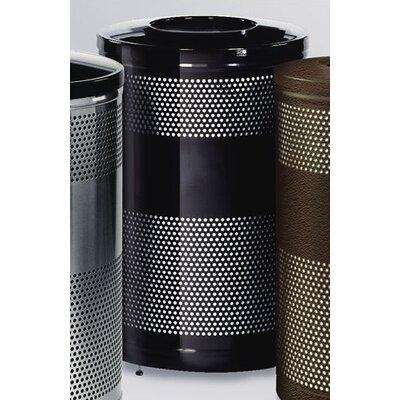 Rubbermaid Commercial Products 51-Gal Howard Classics Open Top Waste Receptacle