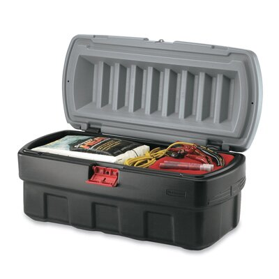 Rubbermaid Commercial Products Action Packer Cargo Box in Black and Gray