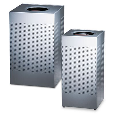 Rubbermaid Commercial Products 16-Gal Designer Line Silhouettes Receptacle