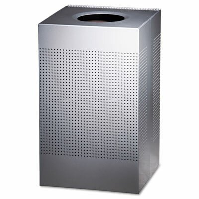 Rubbermaid Commercial Products 29-Gal Designer Line Silhouettes Receptacle