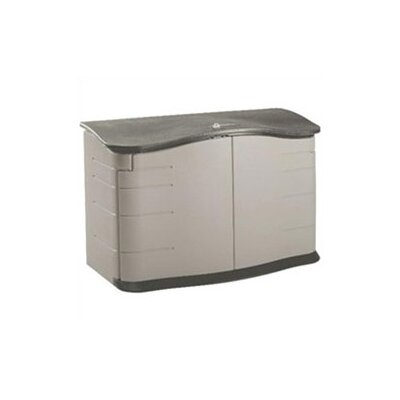 Rubbermaid Commercial Products Home Horizontal 5 Ft. W x 2 Ft. D Storage Shed