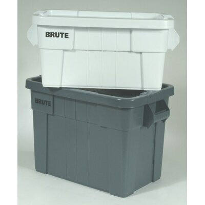 Rubbermaid Commercial Products Brute Tote Box in Gray