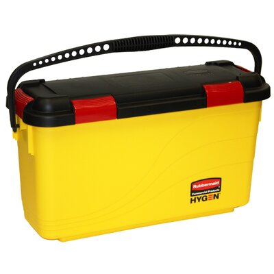 Rubbermaid Commercial Products Charging Bucket in Yellow