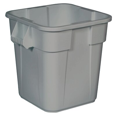 Rubbermaid Commercial Products Brute 28-Gal Square Container without Lid