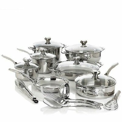 Bistro Elite 18 Piece Cookware Set by Wolfgang Puck®