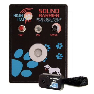 Sound Barrier Indoor Sonic Pet Electric Fence by High Tech Pet