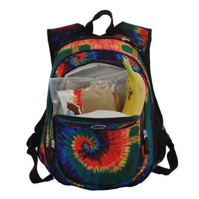 Obersee Kids All in One Preschool Tie Dye Cooler Backpack