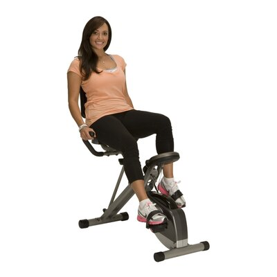 Exerpeutic Fitness 400xl Folding Semi-Recumbent Bike