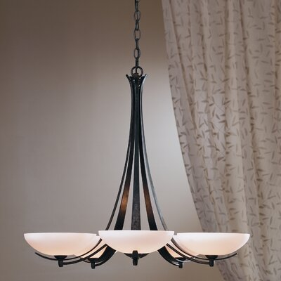 Aegis 5 Light Chandelier by Hubbardton Forge