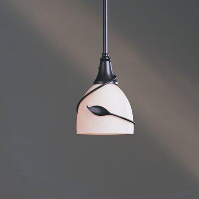 Twining Leaf Small 1 Light Pendant by Hubbardton Forge