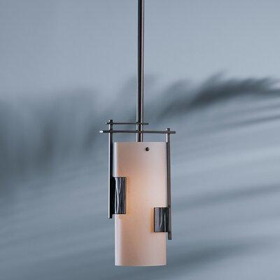 Fullered Impress 1 Light Pendant by Hubbardton Forge