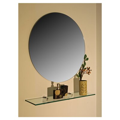 spancraft glass regency frameless wall mirror reviews. Black Bedroom Furniture Sets. Home Design Ideas