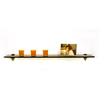 "Spancraft Glass Sunbird Floating Glass 27.5"" x 0.31"" Bathroom Shelf"