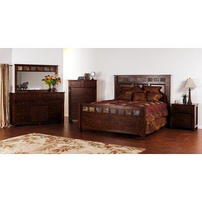 Sunny designs santa fe panel customizable bedroom set reviews wayfair for Sunny designs bedroom furniture