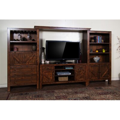 Ranch House Entertainment Center by Sunny Designs