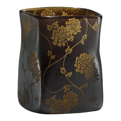 Cyan Design Large Chinese Flower Vase in Brown
