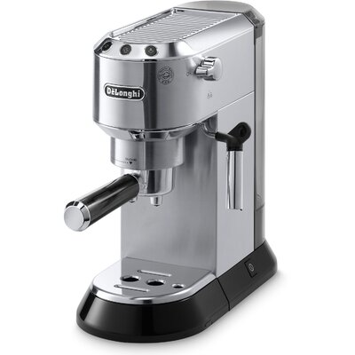 Dedica 15-Bar Pump Espresso Machine with Cappuccino System by DeLonghi