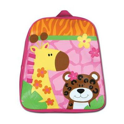 Girl Zoo Go-Go School Backpack by Stephen Joseph