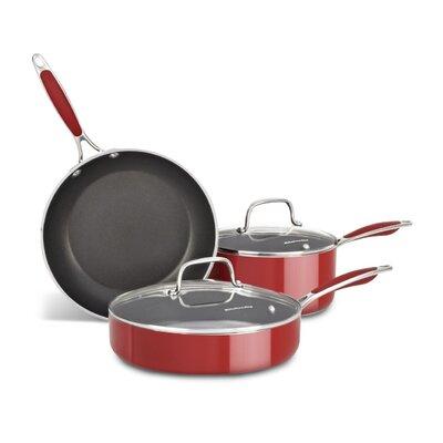 Aluminum Nonstick 3 Piece Cookware Set by KitchenAid