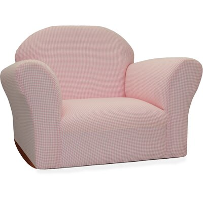 Fantasy Furniture Roundy Ghingham Kid's Rocking Chair CR1X