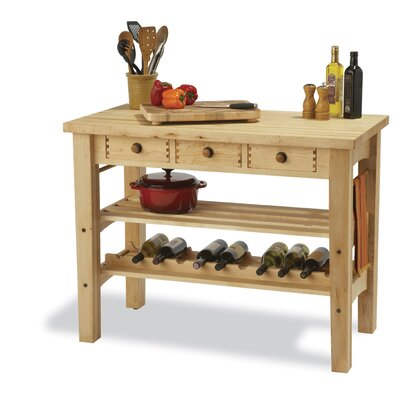 Arts and Crafts Kitchen Island Product Photo