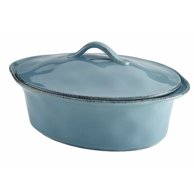 Cucina Stoneware 3.5 Qt. Oval Casserole by Rachael Ray